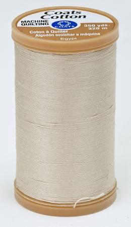 Coats Cotton Machine Quilting Thread 350 yds Ecru