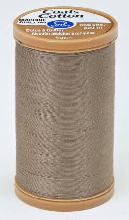 Coats Cotton Machine Quilting Thread 350 yds Driftwood