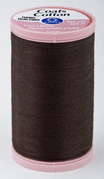 Coats Cotton Hand Quilting Thread 350 yds Chona Brown