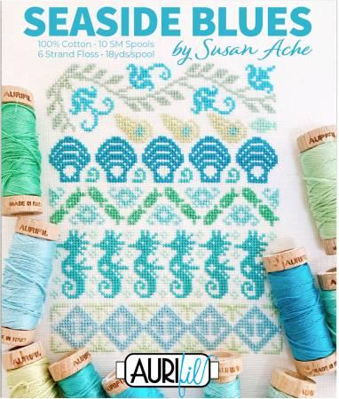 Seaside Blues Thread Kit by Susan Ache