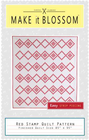 Red Stamp Quilt