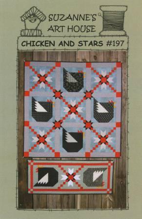 Chicken and Stars Kit 38 x 38
