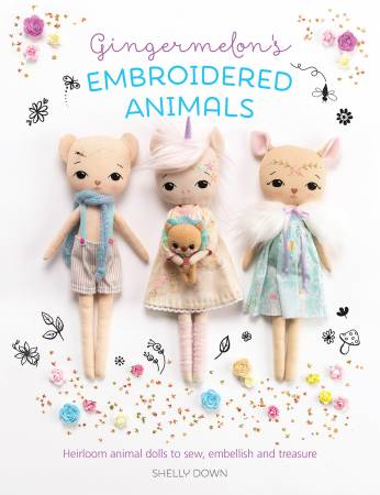Gingermelon's Embroidered Animals Book