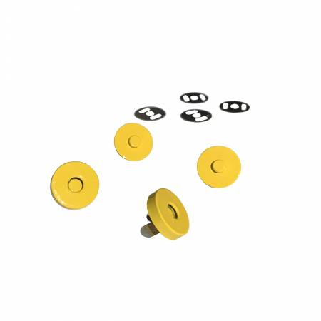 Magnetic Snaps- Yellow 2 sets