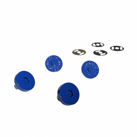 Royal Blue Magnetic Snaps Set of 2