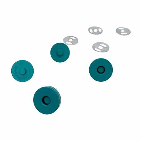 Teal Magnetic Snaps