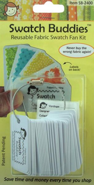 Swatch Buddies Fabric Fan 24ct