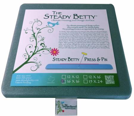 Steady Betty Press and Pin 16 x 16 Gray