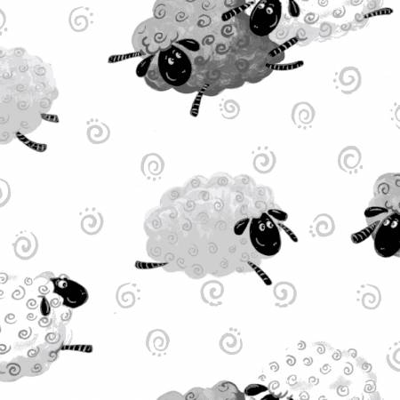 White Lewe the Ewe Sheep Toss