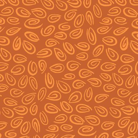 Dark Orange Geo