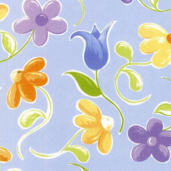 Bird's Floating Daisies lilac SB20138-625