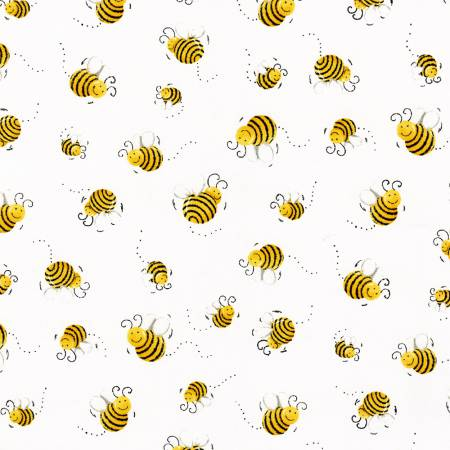 Susybee Bees White