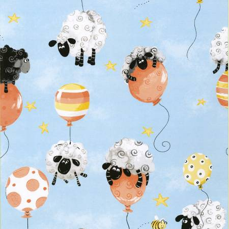 Lewe's Balloons Allover Sheep 20202-930