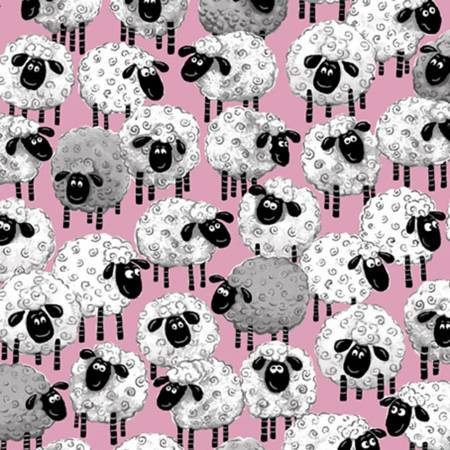 Pink Lal the Lamb Sheep Allover