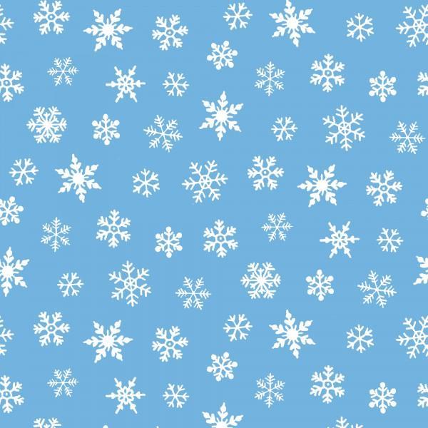 Snowflakes blue/white SB20239-950