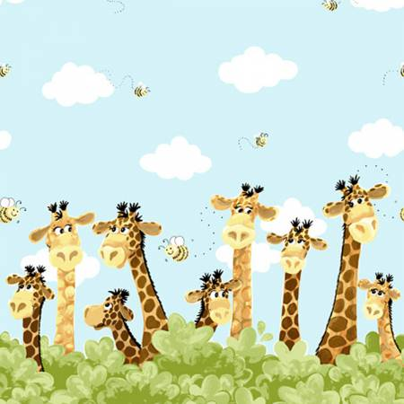 Zoe the Giraffe Border #SB20257-930