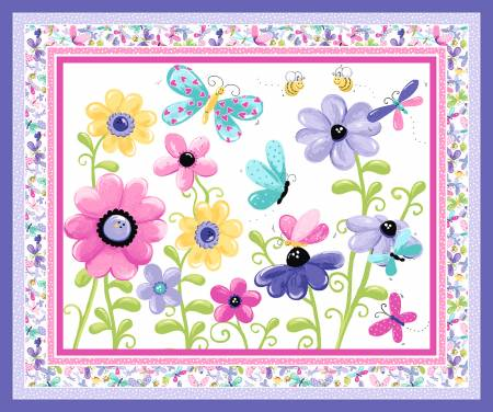 Flutter The Butterfly Play Mat or Wall-hanging