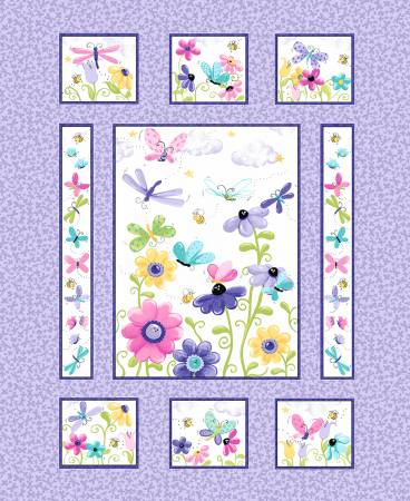 Flutter the Butterfly - Panel