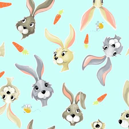 Harold the Hare & Carrots Aqua