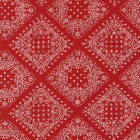 RK Red Bandana SB 82103D2 2 Red