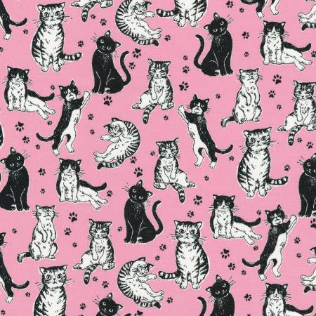 Whiskers And Tails In Pink