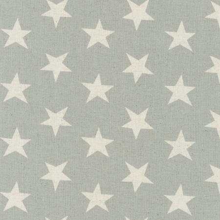 Grey Canvas Natural Stars