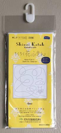 Sashiko Sampler - Shinzi Katoh's Bee (White)