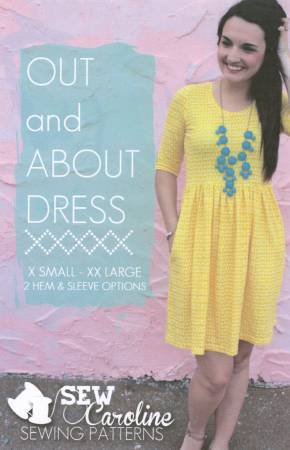 Out and About Dress Pattern by Sew Caroline