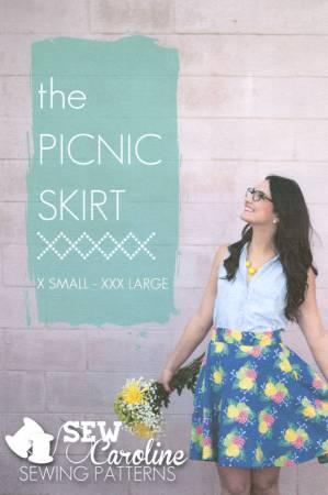 Picnic Skirt Pattern by Sew Caroline