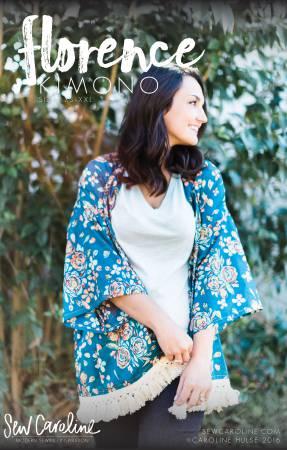Florence Kimono Pattern by Sew Caroline