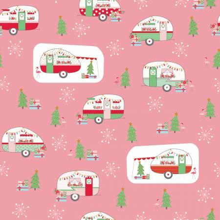 Christmas Adventure - Christmas w/Sparkle Main Peony