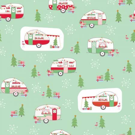 Christmas Adventure - Christmas w/Sparkle Main Sweetmint