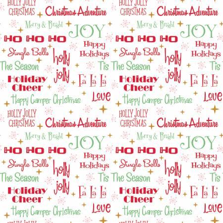 Christmas Adventure - Christmas w/Sparkle Phrases White