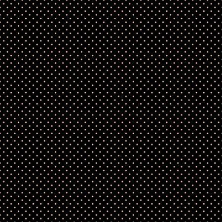 Swiss Dot Black-Rose Gold Sparkle
