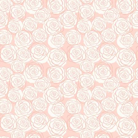 Bliss Roses Blush With Rose Gold Sparkle