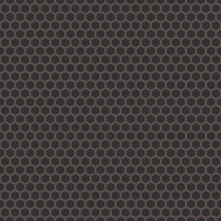 Bliss Honeycomb Black