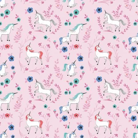 My Unicorn Garden Dk Pink With Sparkle