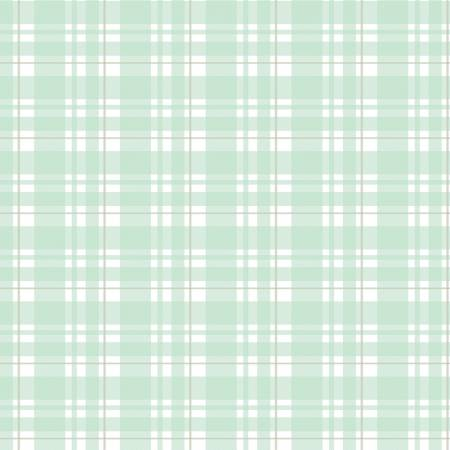 Glam Girl - Plaid - Mint With Rose Gold Sparkle