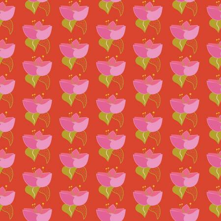 Sweet Honey Kisses Lotus Red w/Sparkle