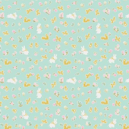 Milk And Honey - Bunny Friends Mint w/Sparkle