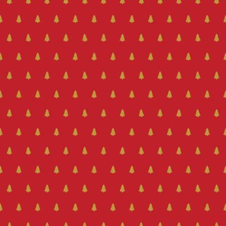 Santa Claus Lane Trees Red