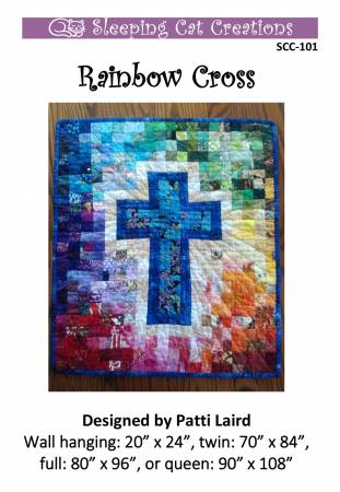 Rainbow Cross Pattern
