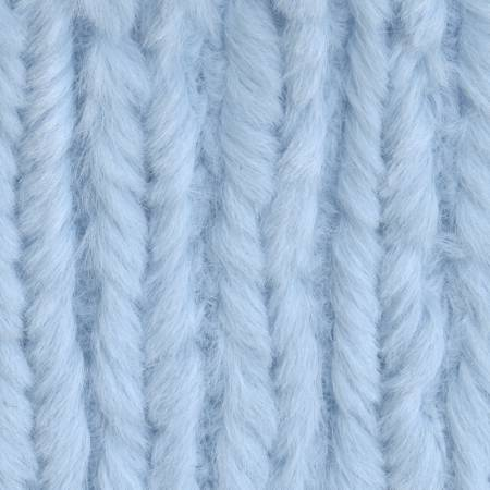 Baby Blue Chenille Soft Cuddle Solid
