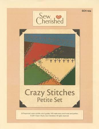 Petite Crazy Stitches