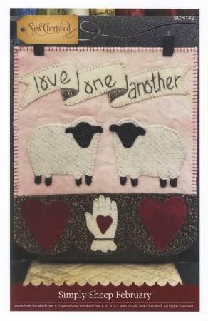 Simply Sheep February - Wool Pattern - Sew Cherished