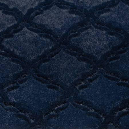 Navy Lattice Soft Cuddle Solid 10-12yd pcs