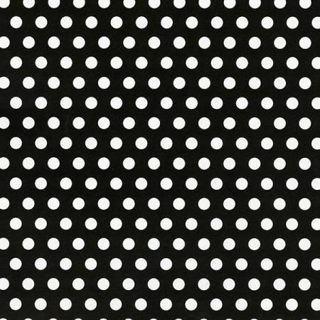 Black/Snow Swiss Dot Cuddle 10-12yd pcs