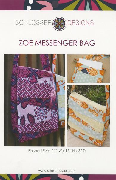 Zoe Messenger Bag pattern