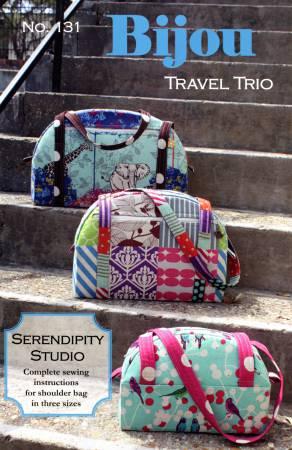 Bijou Travel Trio Shoulder Bag by Serendipity Studio SDG131