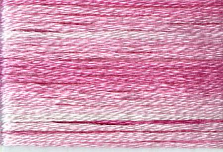 Cosmo Seasons Variegated Embroidery Floss Pinks - 8009